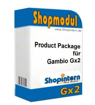 Product Package für Gambio Gx2
