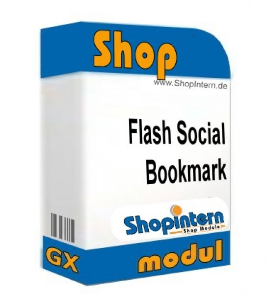 Flash Social Bookmark