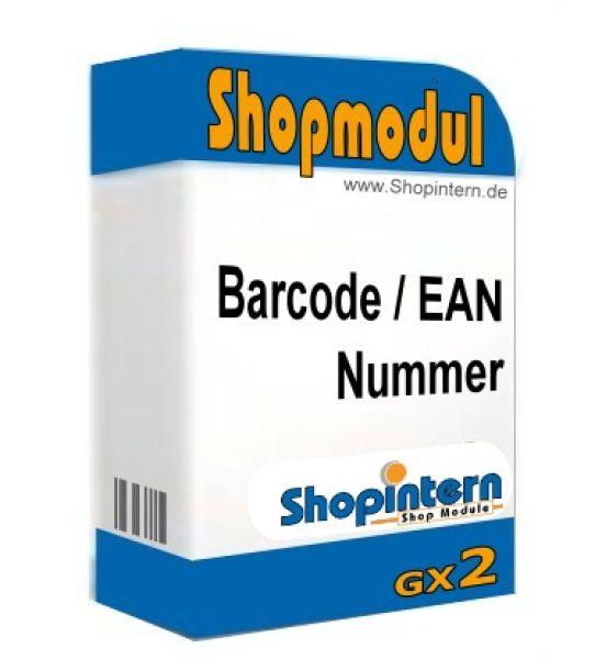 barcode ean nummer gambio gx2 gambio shop gambio update. Black Bedroom Furniture Sets. Home Design Ideas